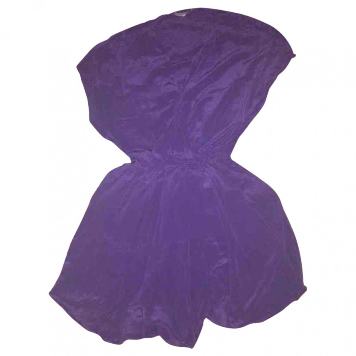 Mini vestido SS18 de Seda Maje