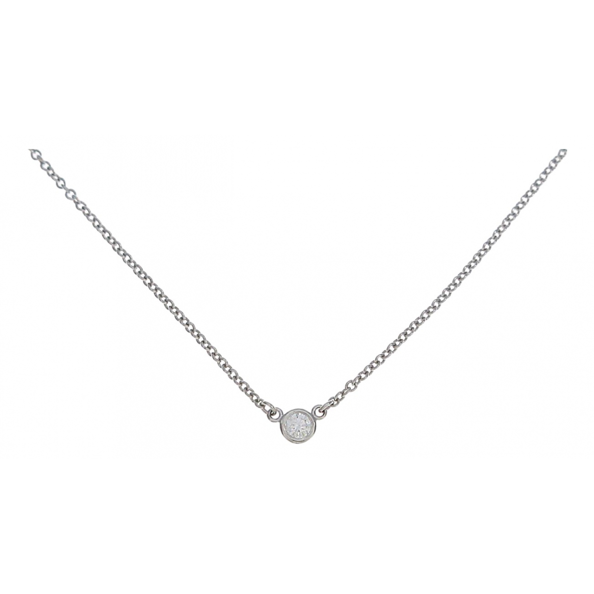 Collar Elsa Peretti  de Platino Tiffany & Co