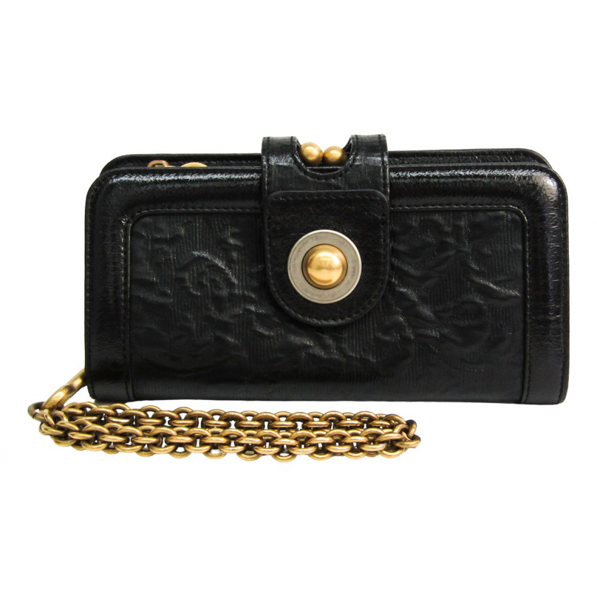 Stella Mccartney \N Black Cloth wallet for Women \N