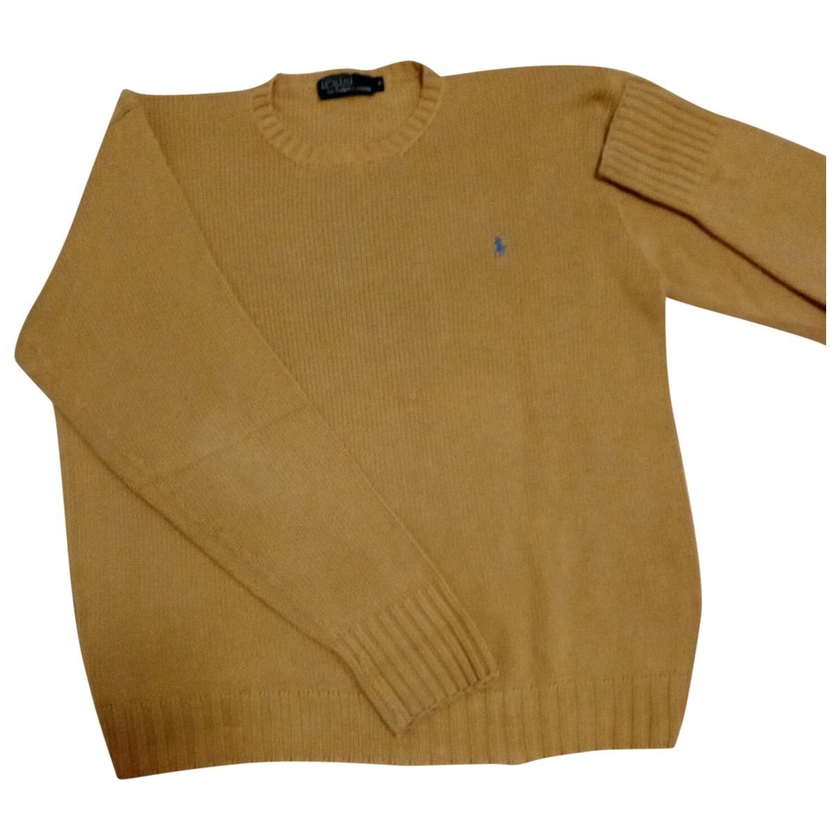 Polo Ralph Lauren \N Pullover.Westen.Sweatshirts  in  Kamel Baumwolle