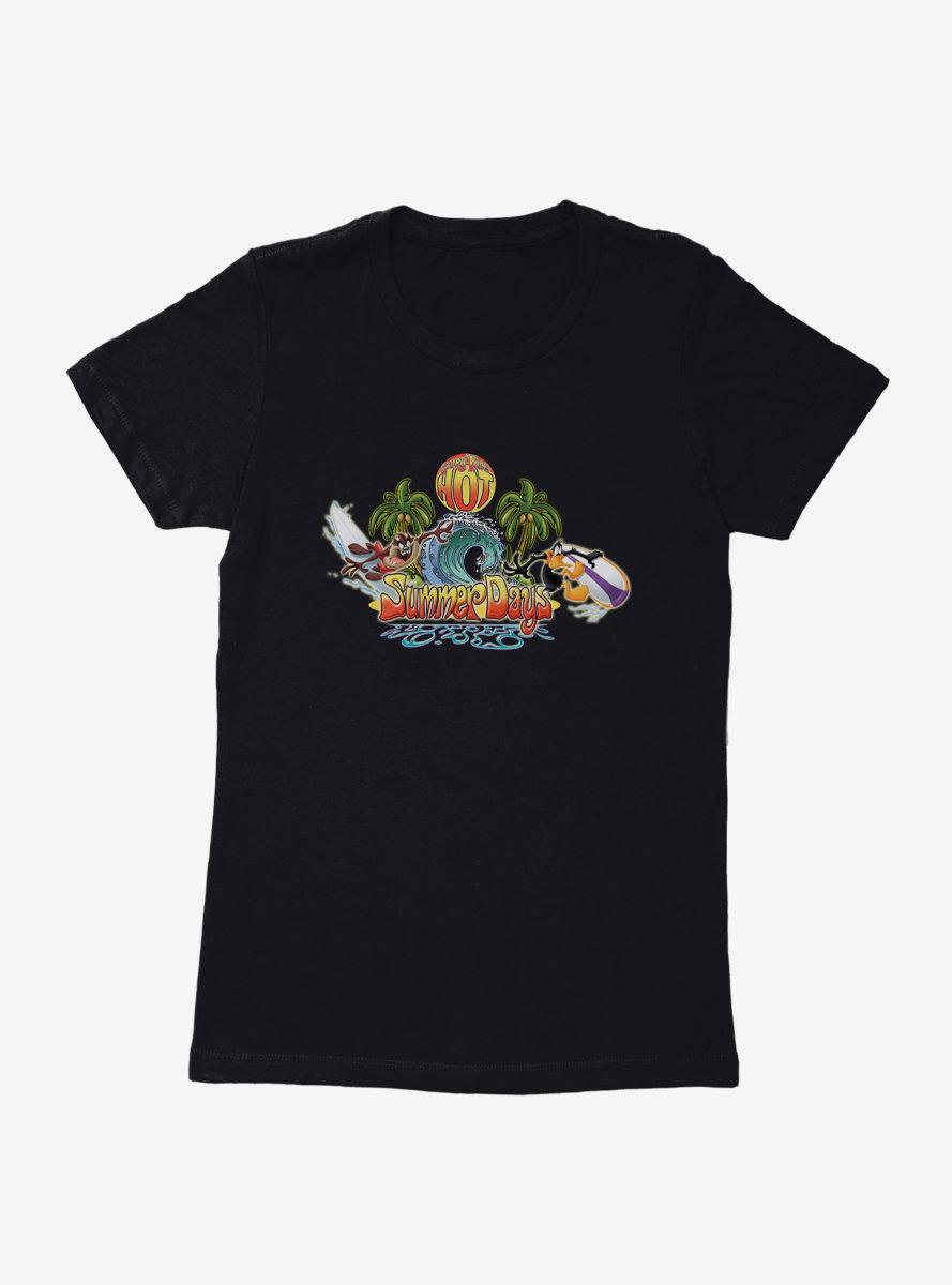 Looney Tunes Summer Days Womens T-Shirt