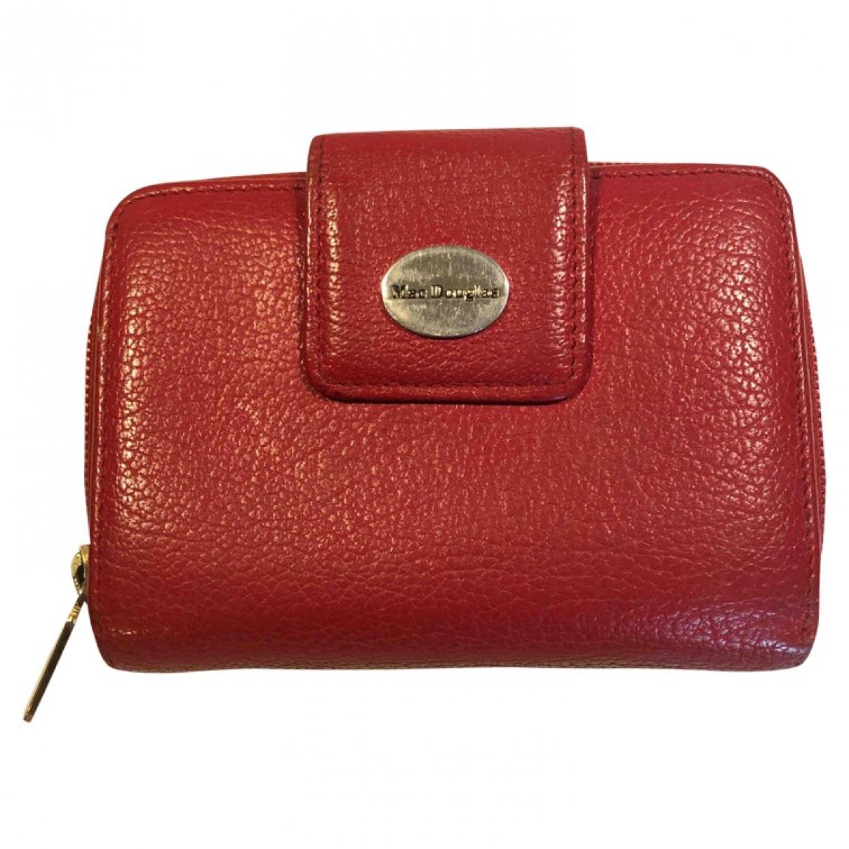 Mac Douglas \N Kleinlederwaren in  Rot Leder
