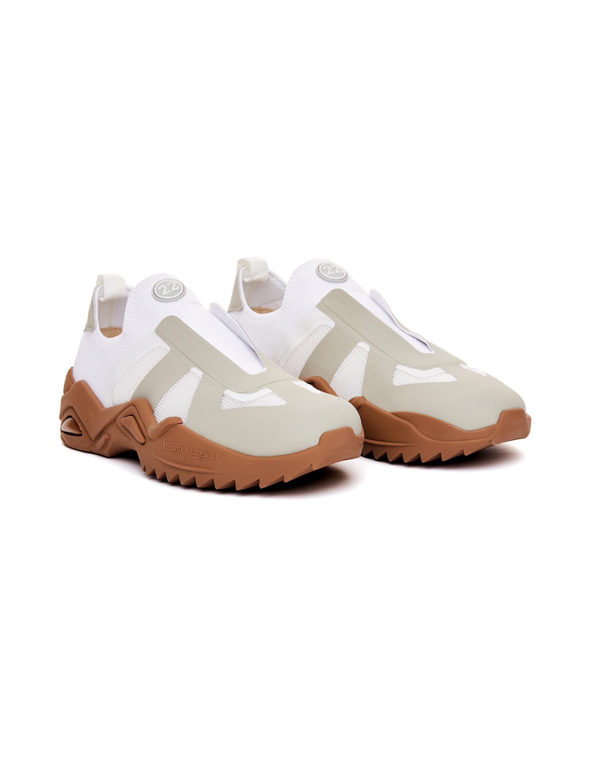Maison Margiela White Leather New Replica Sneakers