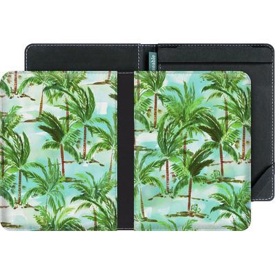 tolino vision 3 HD eBook Reader Huelle - Palm Tree Green  von Amy Sia