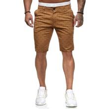 Bermuda Shorts mit Muster
