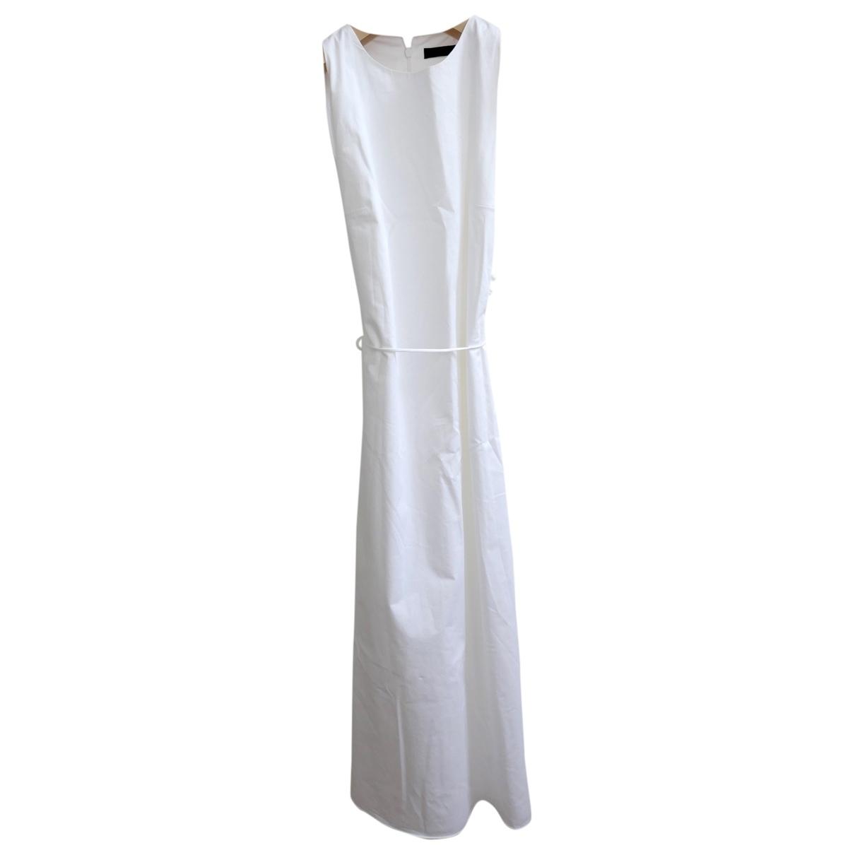 The Row \N White Cotton dress for Women 0 0-5