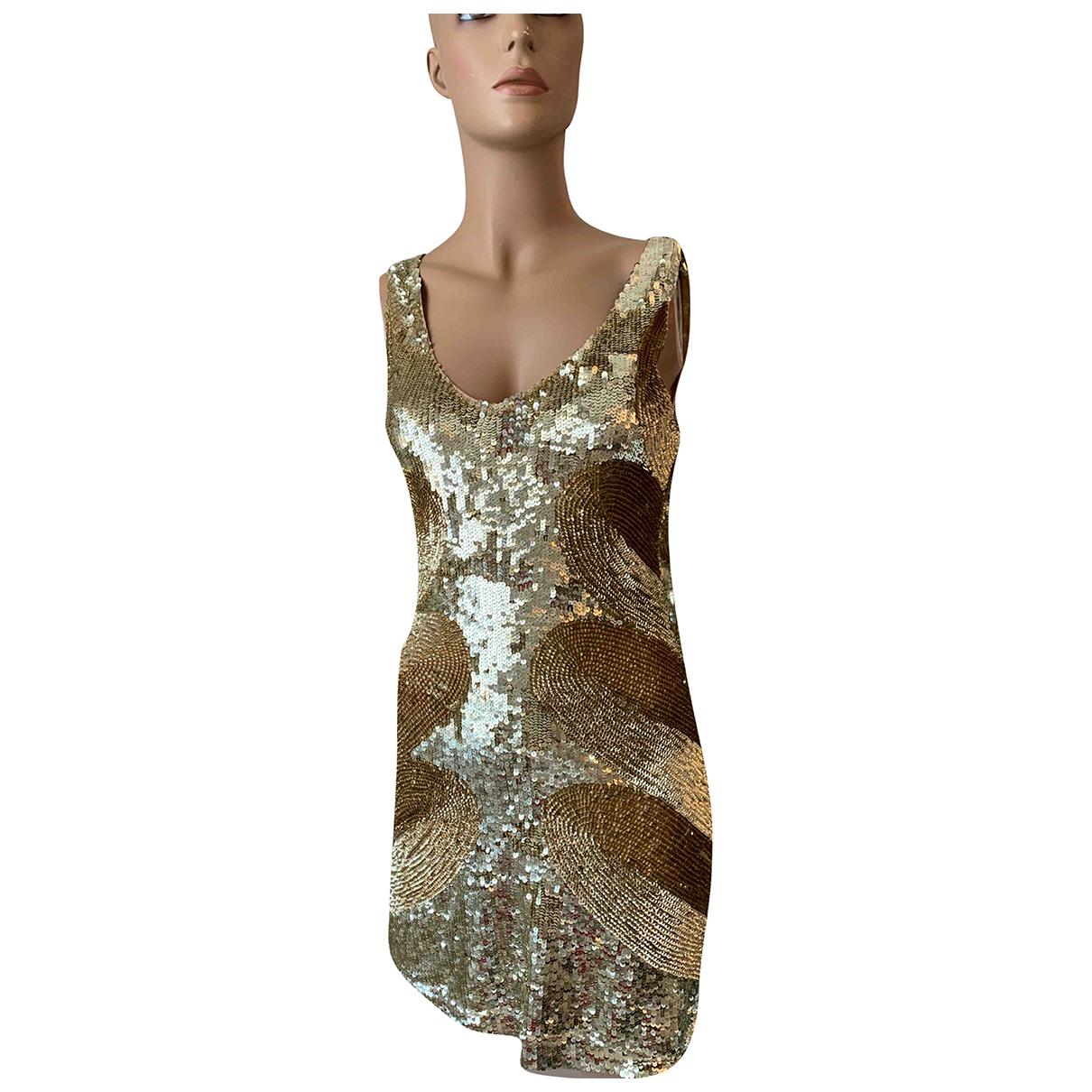 Flavio Castellani N Gold dress for Women 40 IT