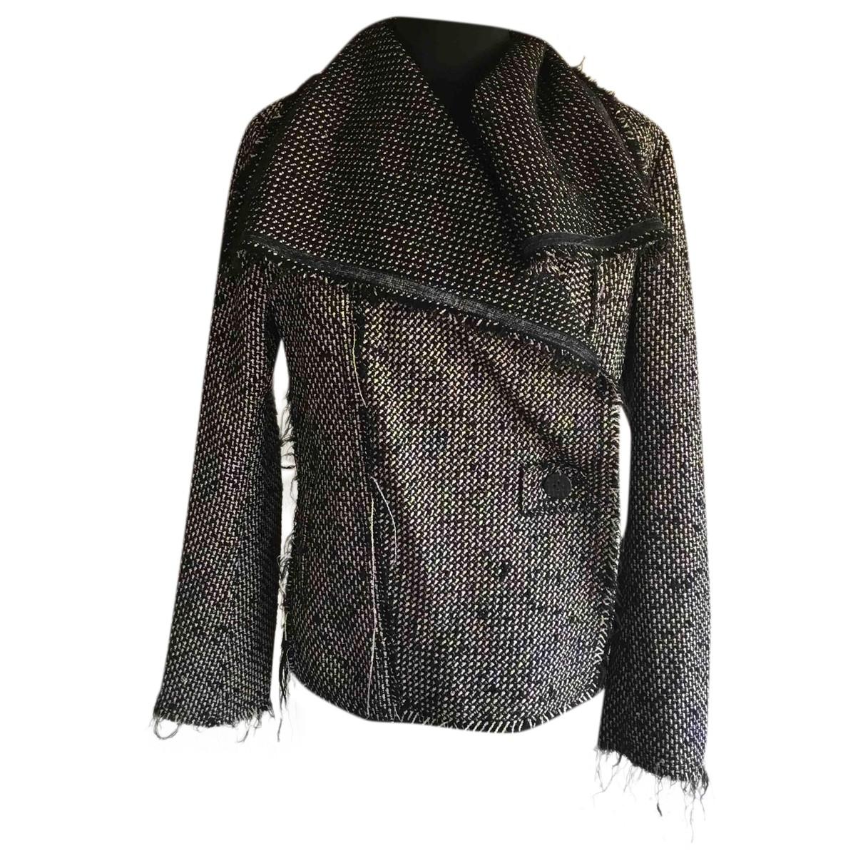 Issey Miyake - Veste   pour femme en laine - multicolore