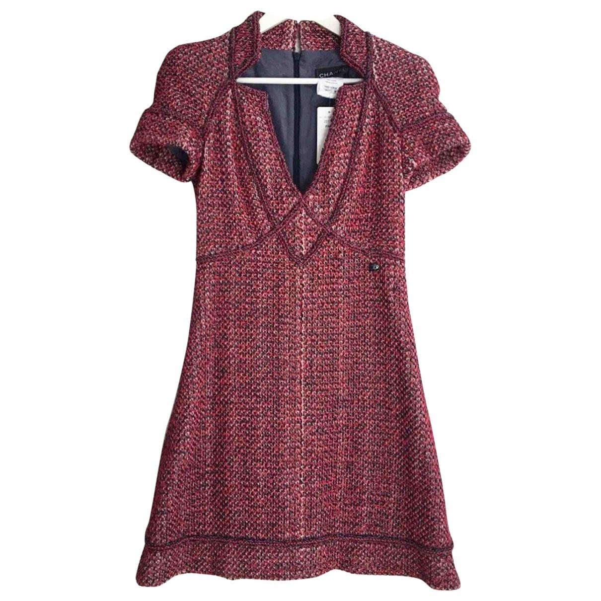 Chanel \N Kleid in  Rot Baumwolle