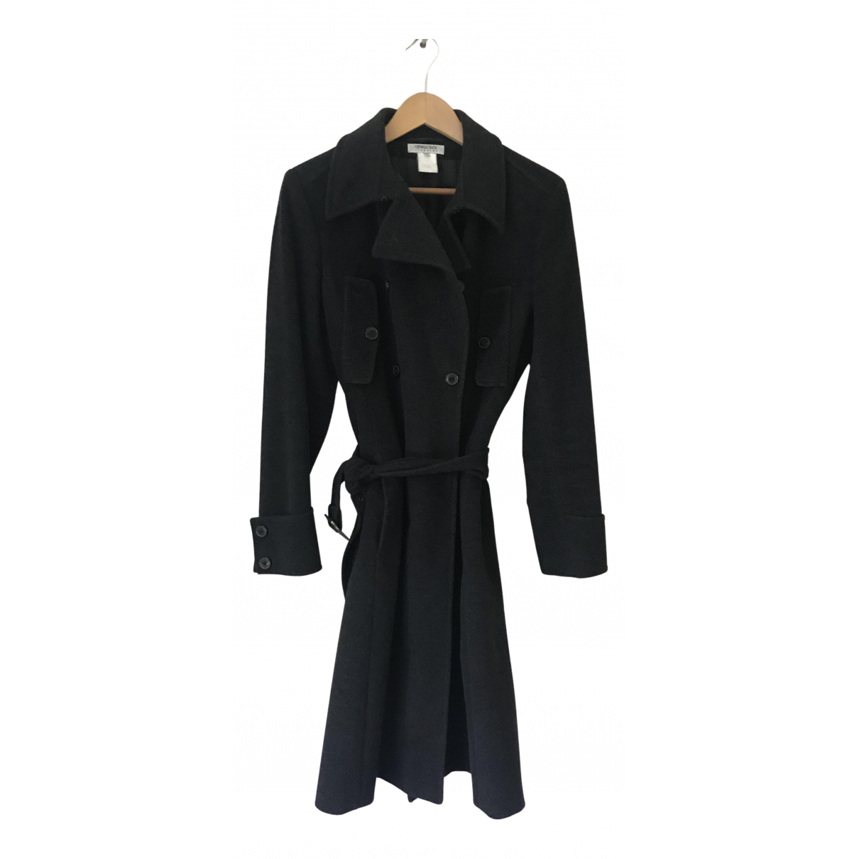Georges Rech - Manteau   pour femme en laine - anthracite