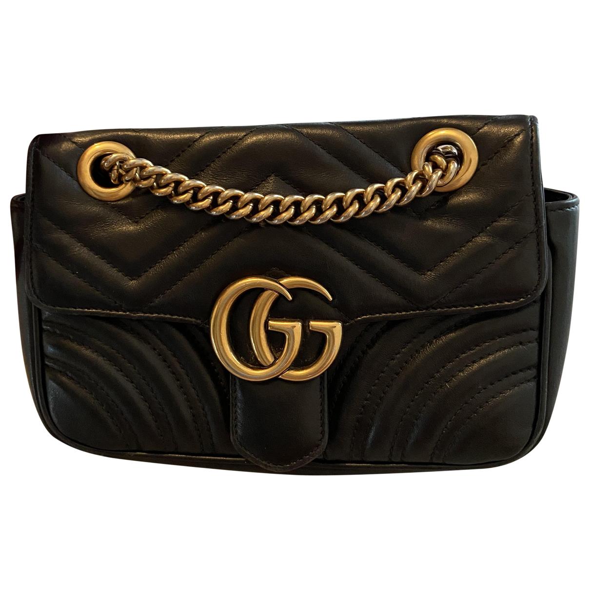 Bolso  Marmont de Cuero Gucci