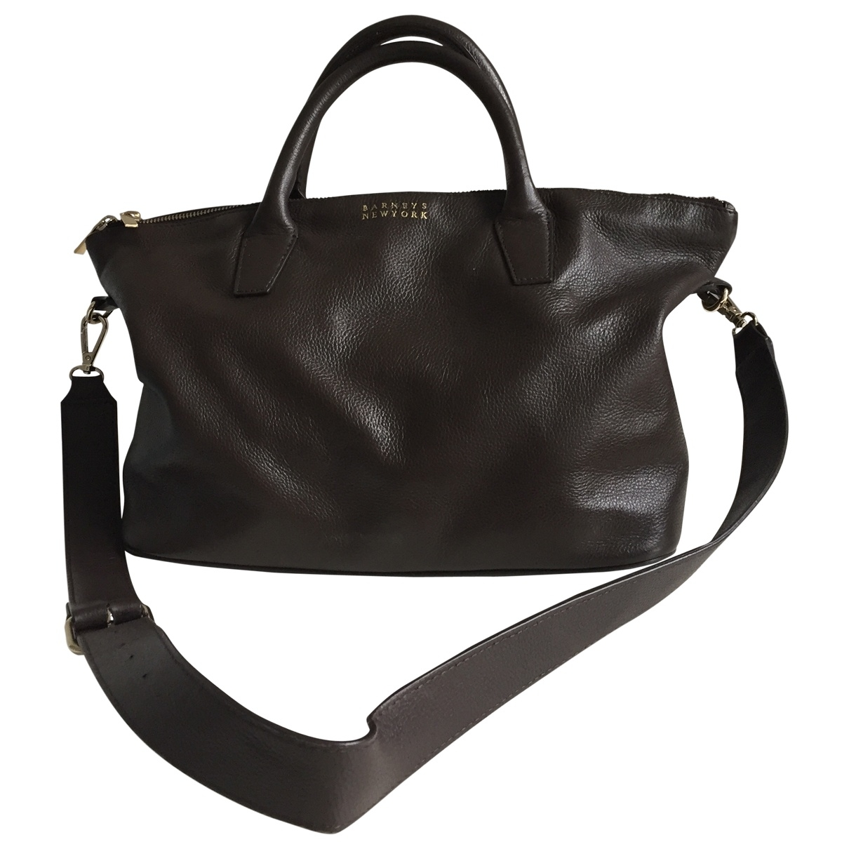 Barneys New York \N Brown Leather handbag for Women \N