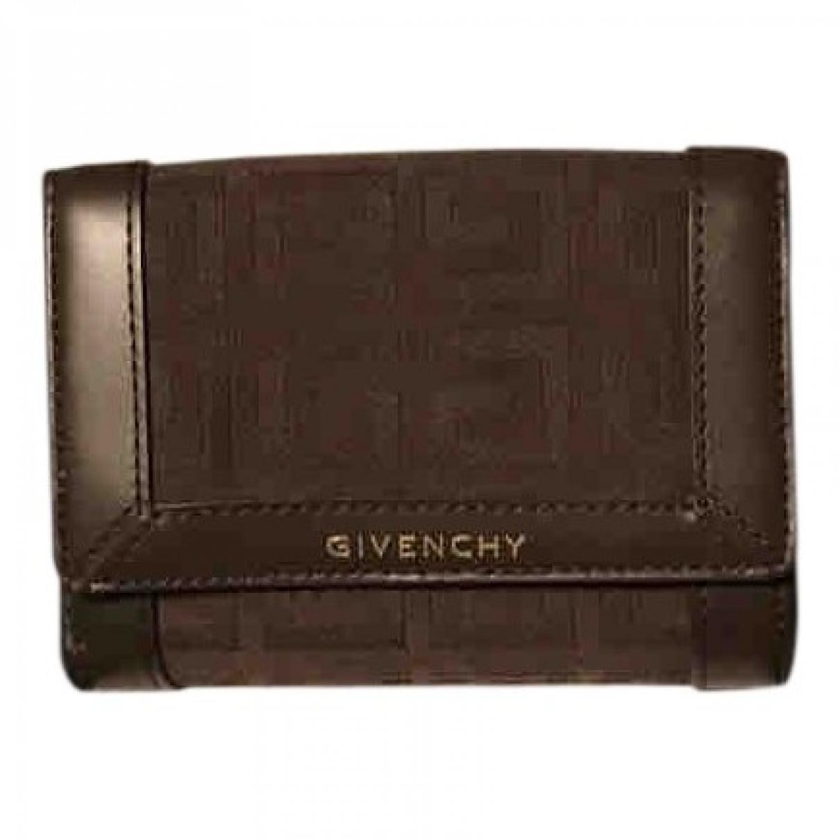 Givenchy - Portefeuille   pour femme en toile - marron
