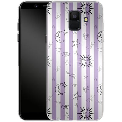 Samsung Galaxy A6 Silikon Handyhuelle - Optical Zodiac von caseable Designs