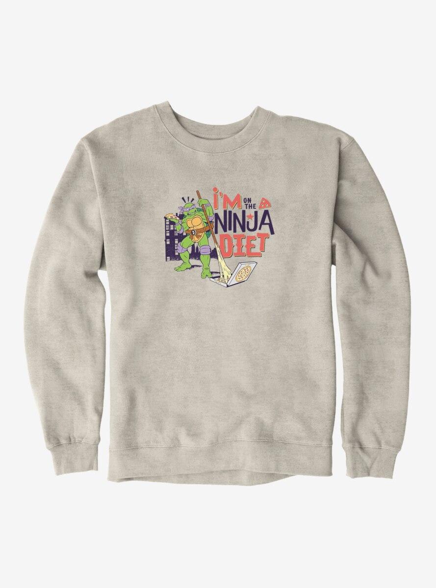 Teenage Mutant Ninja Turtles Donatello On The Ninja Diet Sweatshirt
