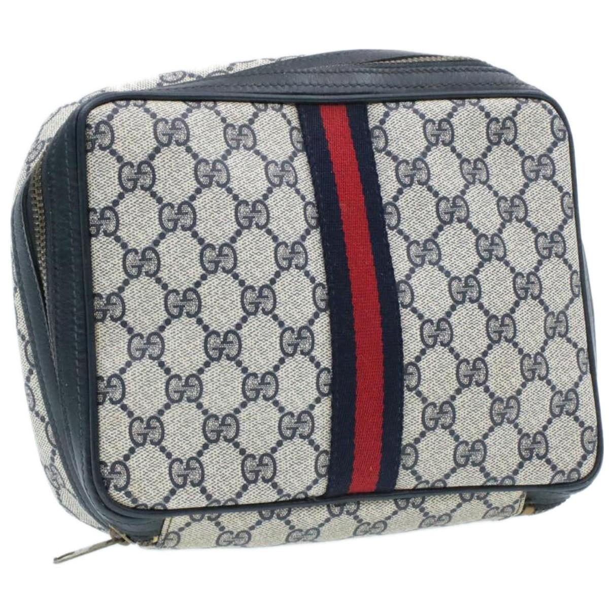 Gucci \N Blue Cloth Clutch bag for Women \N