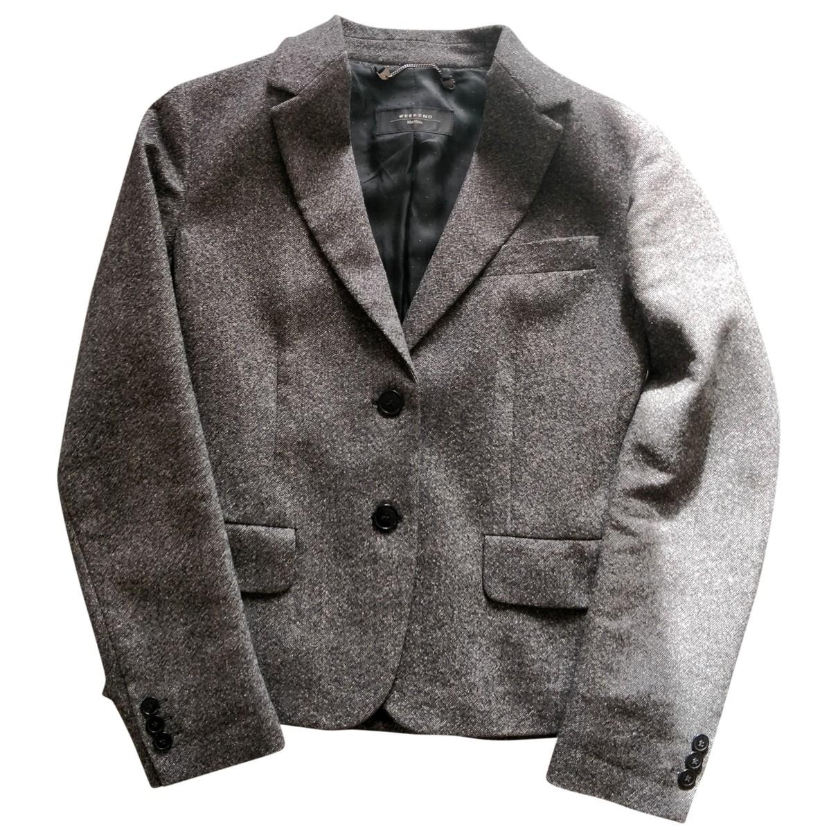 Max Mara Weekend \N Multicolour Wool jacket for Women 36 FR