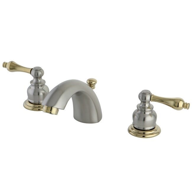 Kingston Brass KB94.AL Victorian Mini-Widespread Bathroom Faucet with (Satin Nickel)