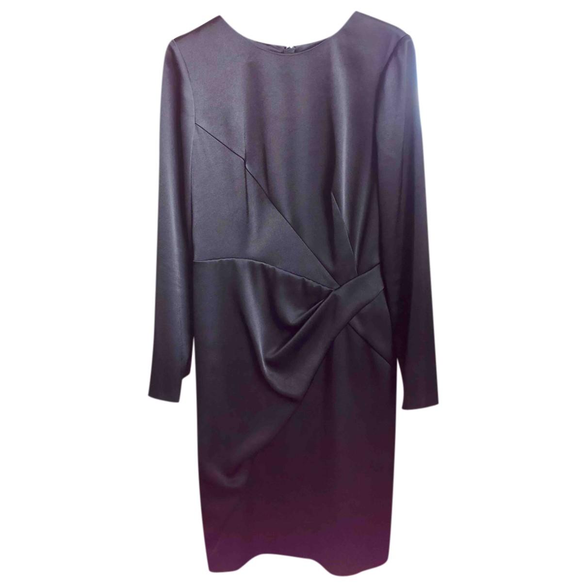 Paule Ka \N Kleid in  Schwarz Synthetik
