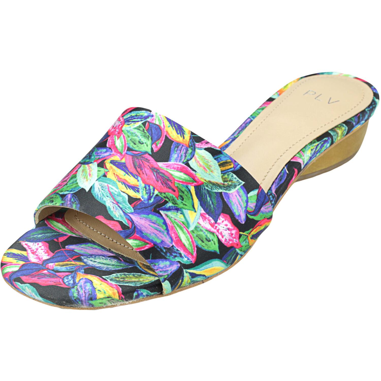 Pour La Voctoire Women's Mallory Satin Tropic Trip Sandal - 6.5M