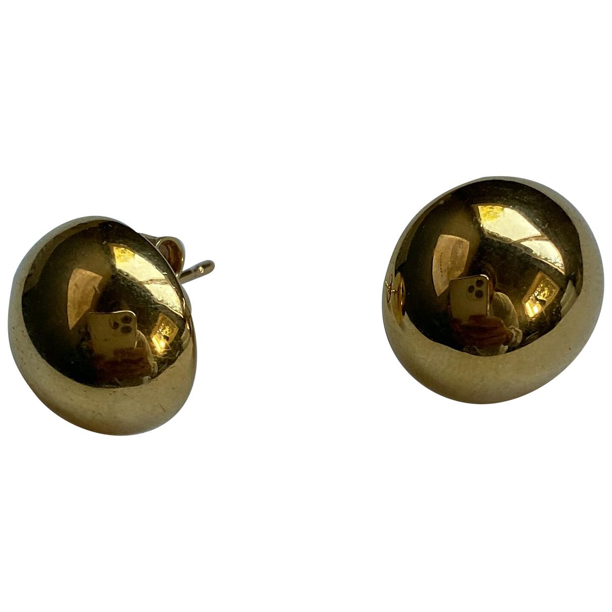 Celine \N OhrRing in  Gold Metall
