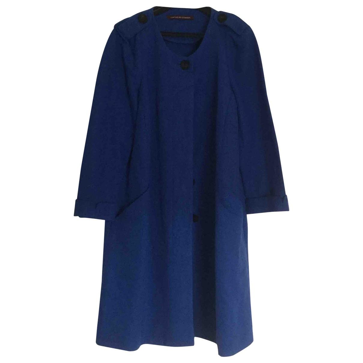 Comptoir Des Cotonniers - Manteau   pour femme en coton - bleu