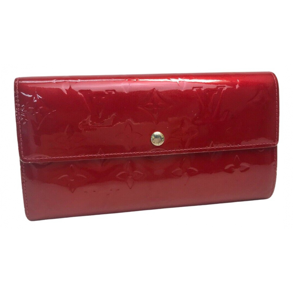 Louis Vuitton Sarah Red Patent leather wallet for Women N