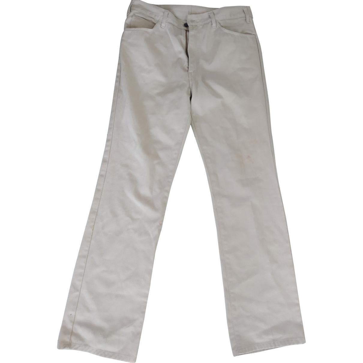 Levi's \N Beige Cotton Jeans for Men 34 US