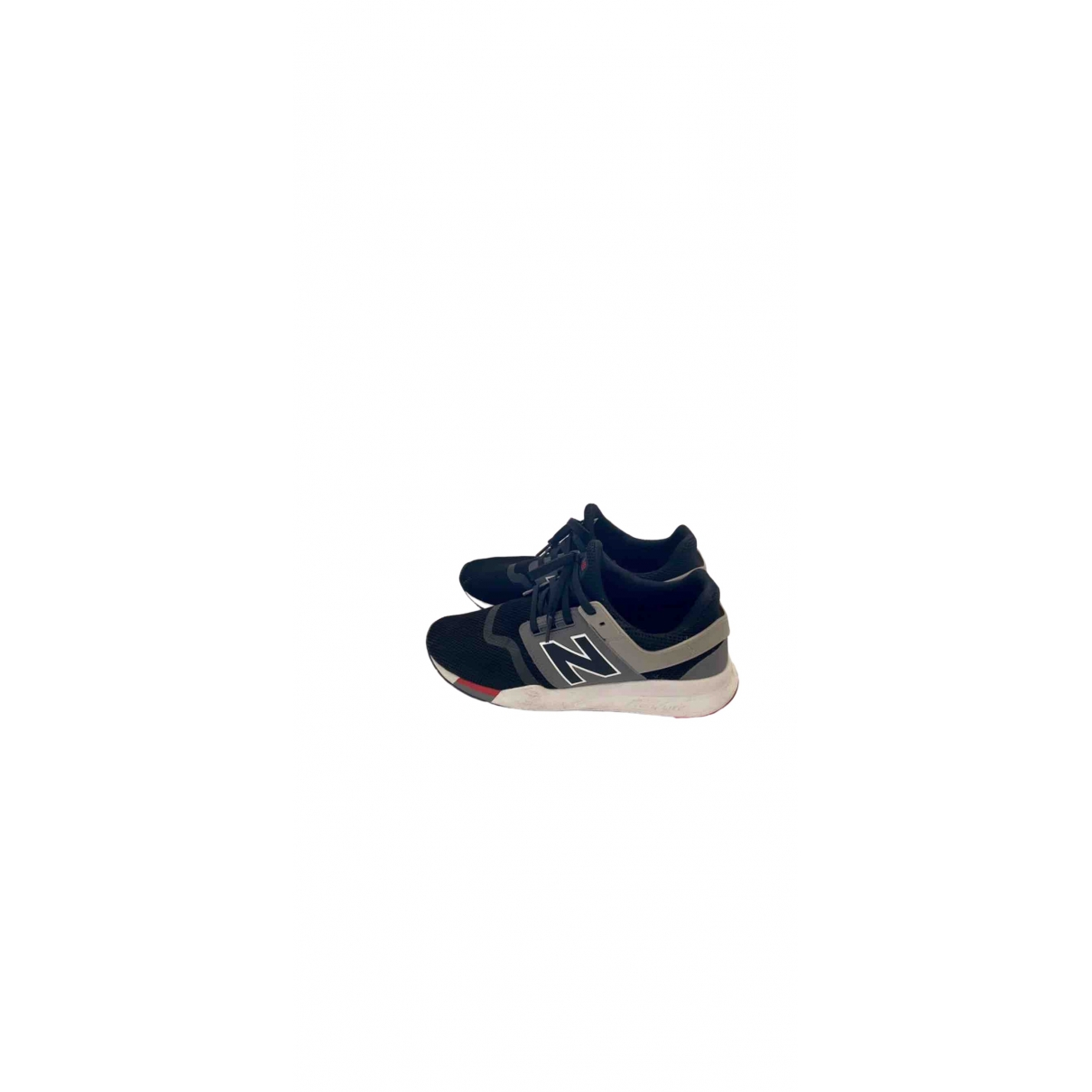 New Balance - Baskets   pour homme en toile - noir