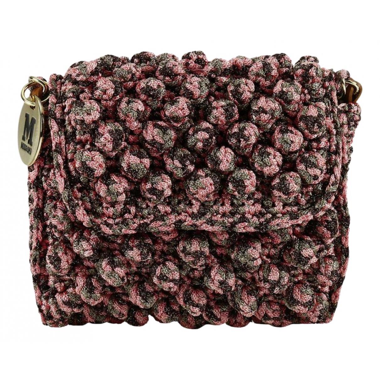 M Missoni \N Pink Cloth Clutch bag for Women \N