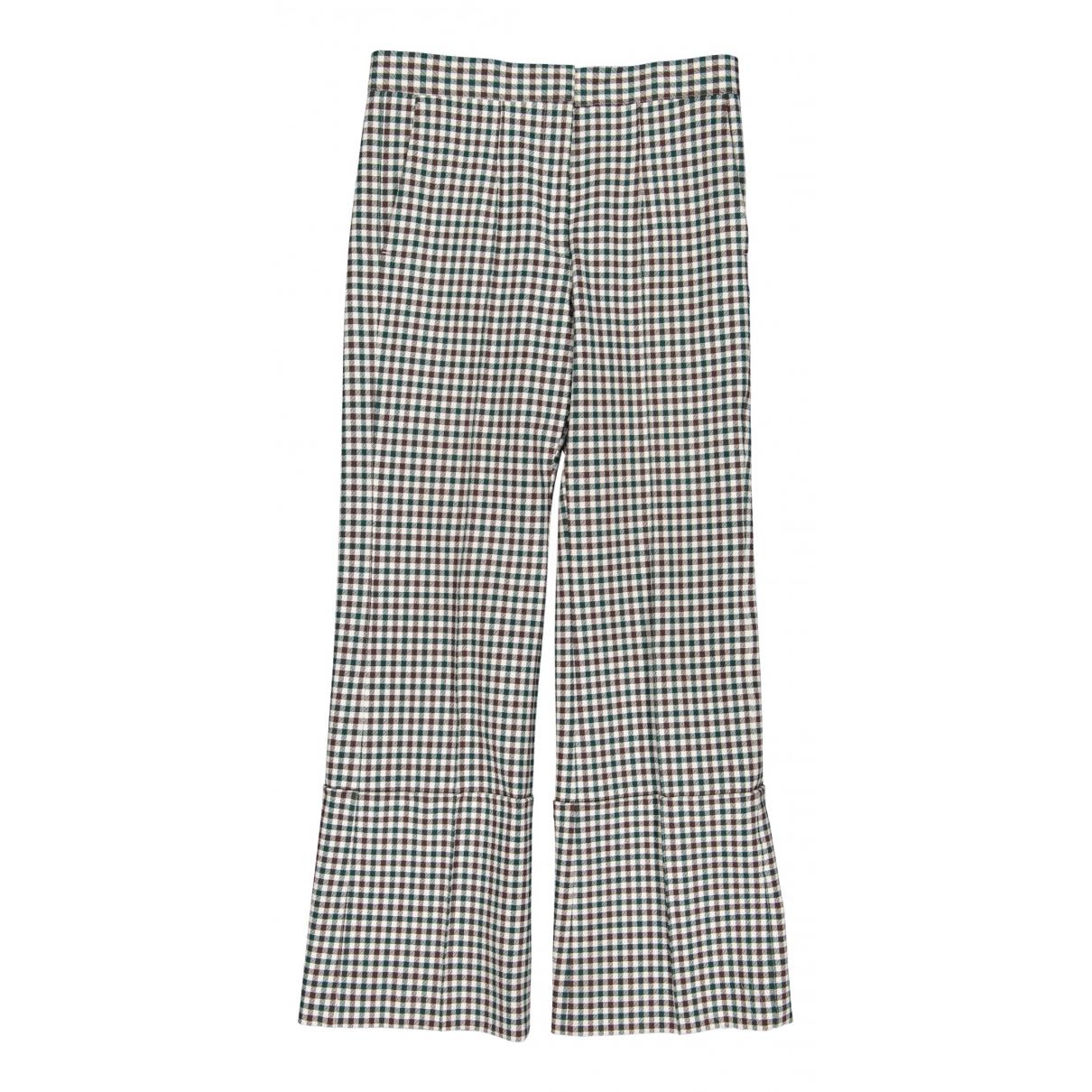 Celine - Pantalon   pour femme en coton - multicolore