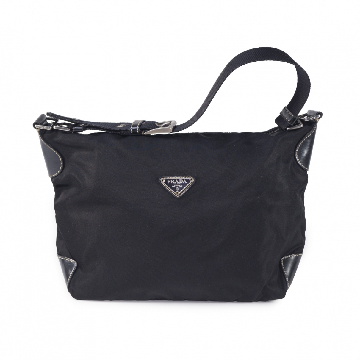 Prada Tessuto  Black Cloth handbag for Women \N