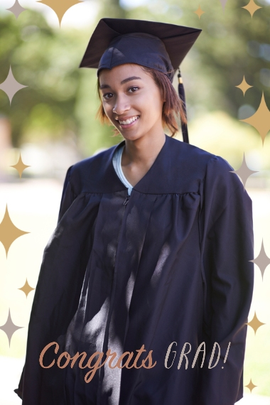 Graduation Magnets, Gift -All Star Graduate