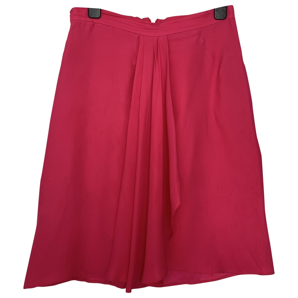 Blumarine - Jupe   pour femme en soie - rouge
