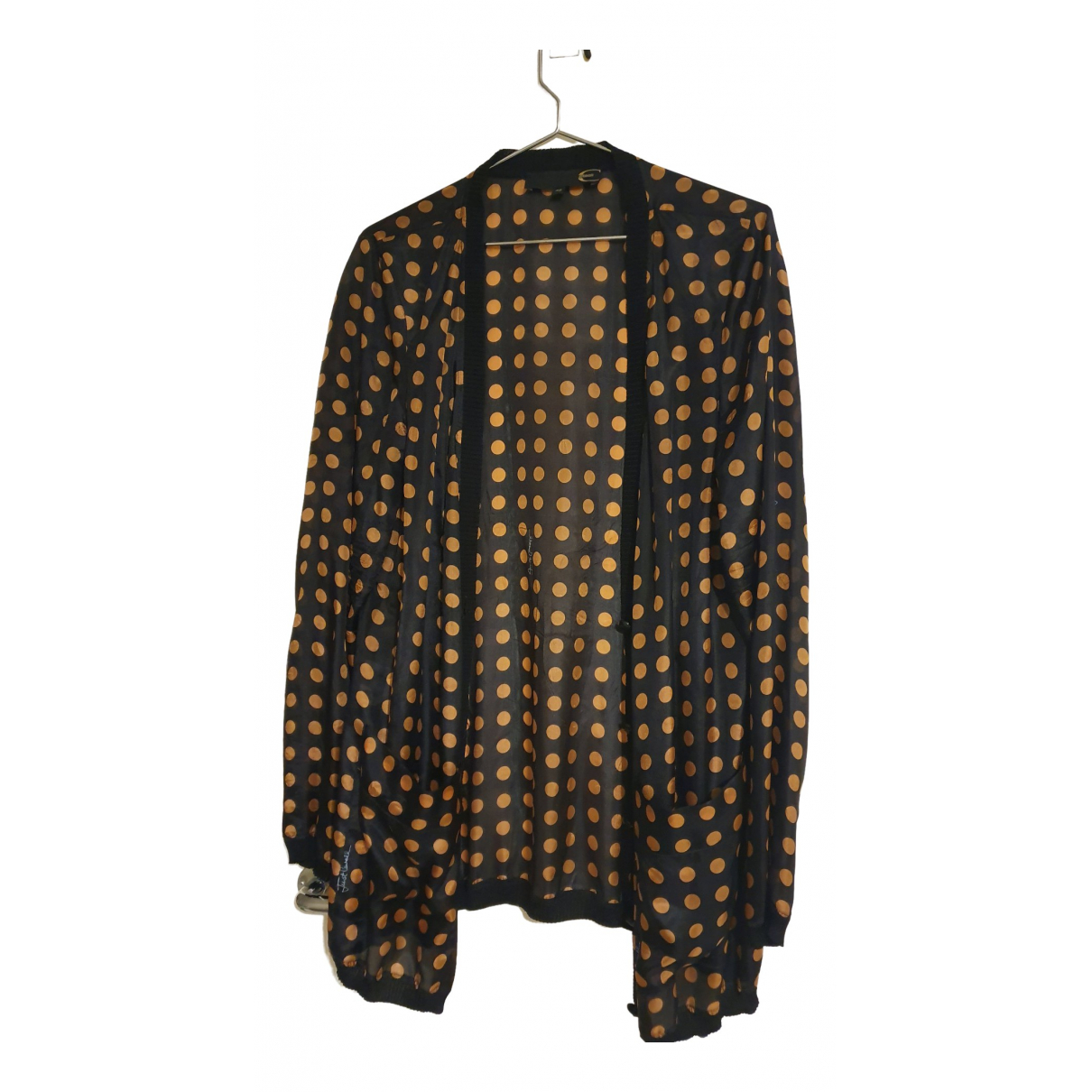 Just Cavalli - Veste   pour femme en soie - noir