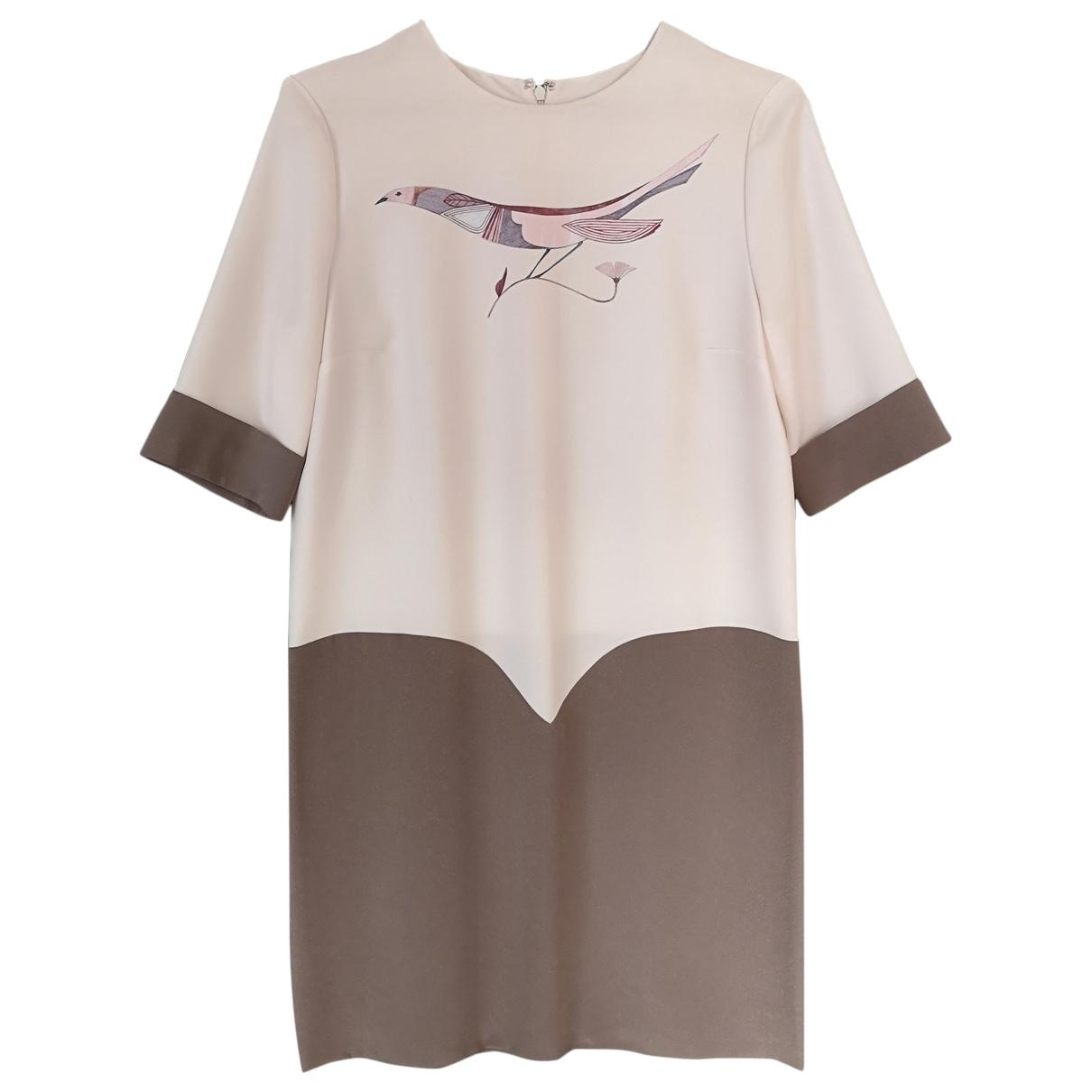 Victoria, Victoria Beckham - Robe   pour femme - beige