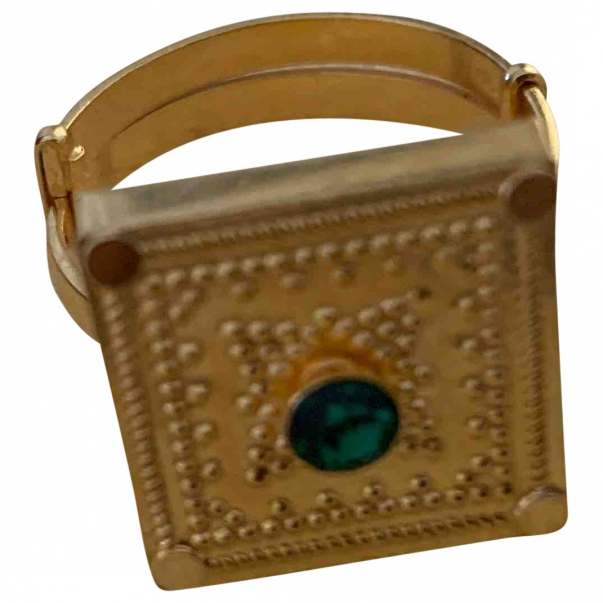 Non Signe / Unsigned Chevalieres Ring in  Gelb Gelbgold