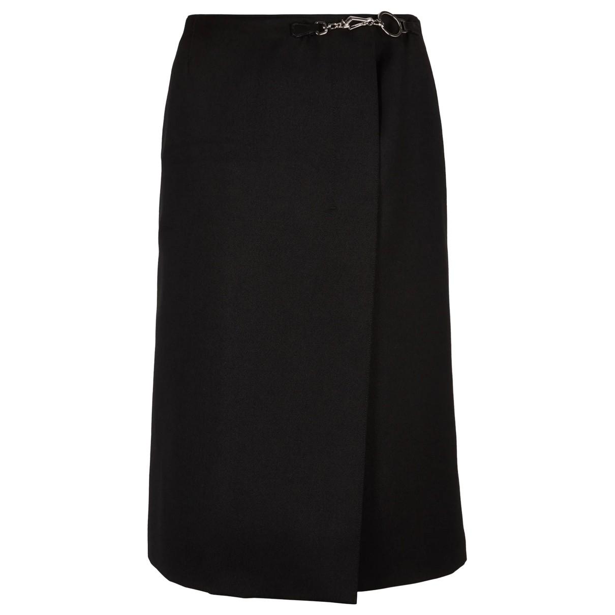 Prada - Jupe   pour femme en laine - noir
