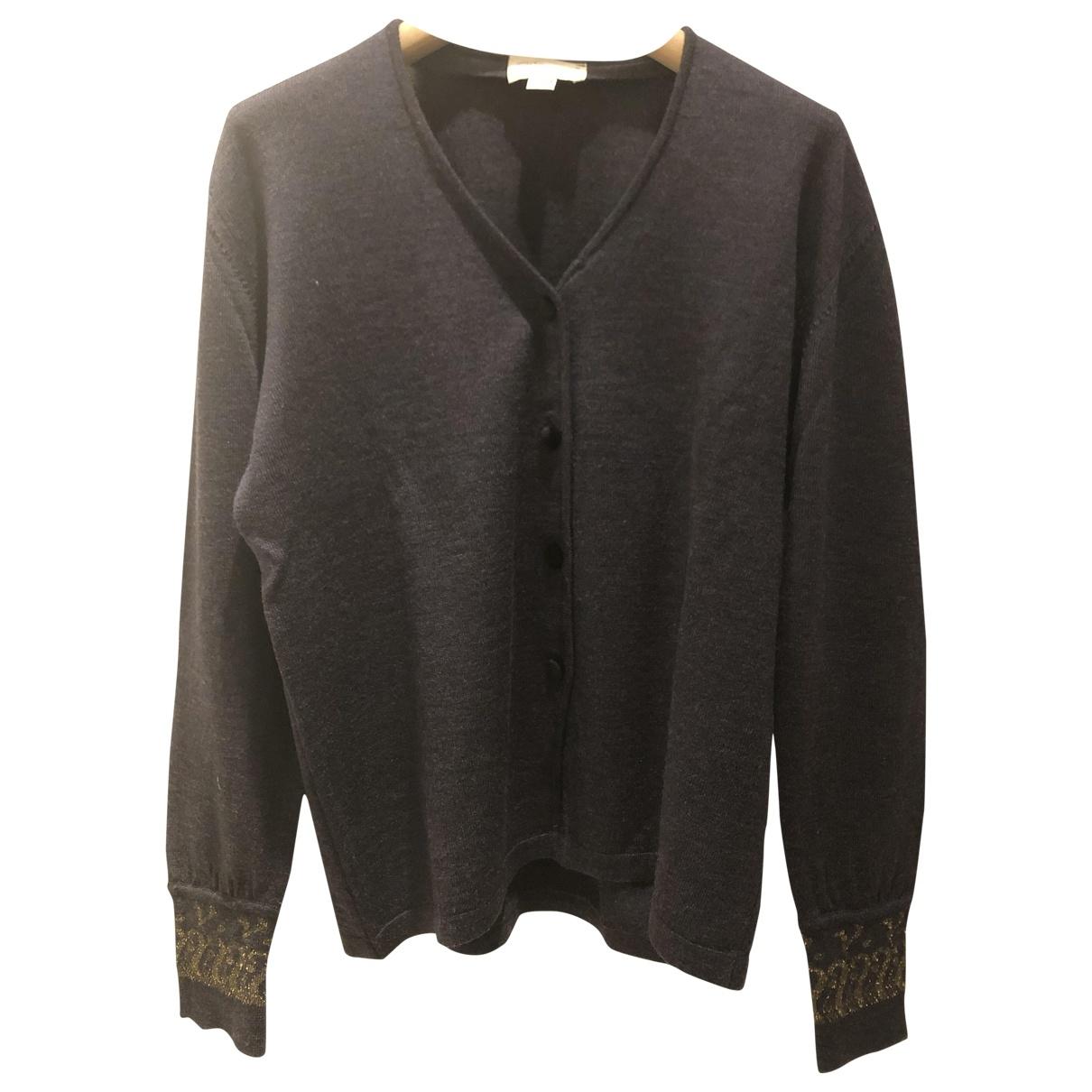 Blumarine \N Pullover in  Blau Wolle