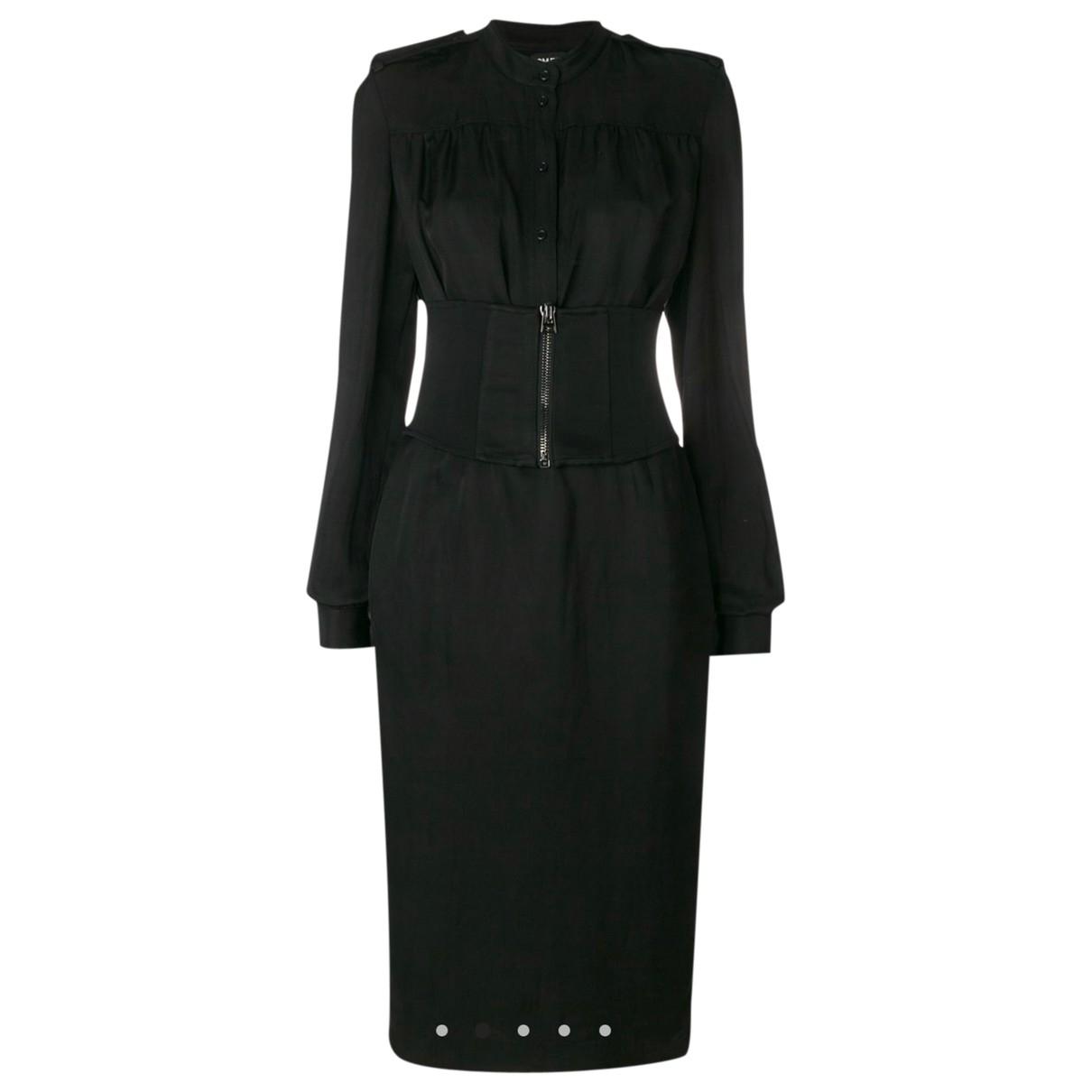 Tom Ford \N Black Silk dress for Women 36 FR