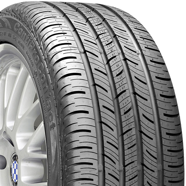 Continental 15482860000 Pro Contact Tire P 195 /65 R15 89H SL BSW HM