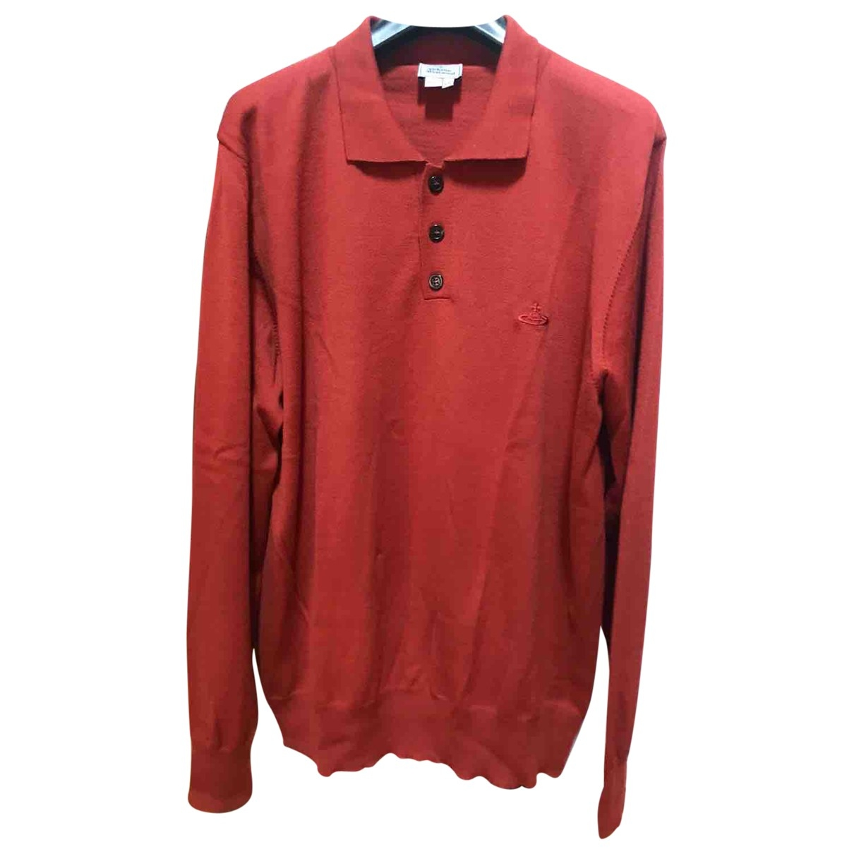 Vivienne Westwood \N Pullover.Westen.Sweatshirts  in  Orange Wolle