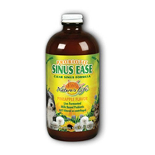 Probiotic Sinus Ease Liquid Pineapple 16 oz by Nature's Life