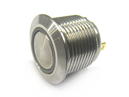 RS PRO Single Pole Single Throw (SPST) Momentary RGB LED Push Button Switch, IP67, 16 (Dia.)mm, Panel Mount, 36V dc (20)