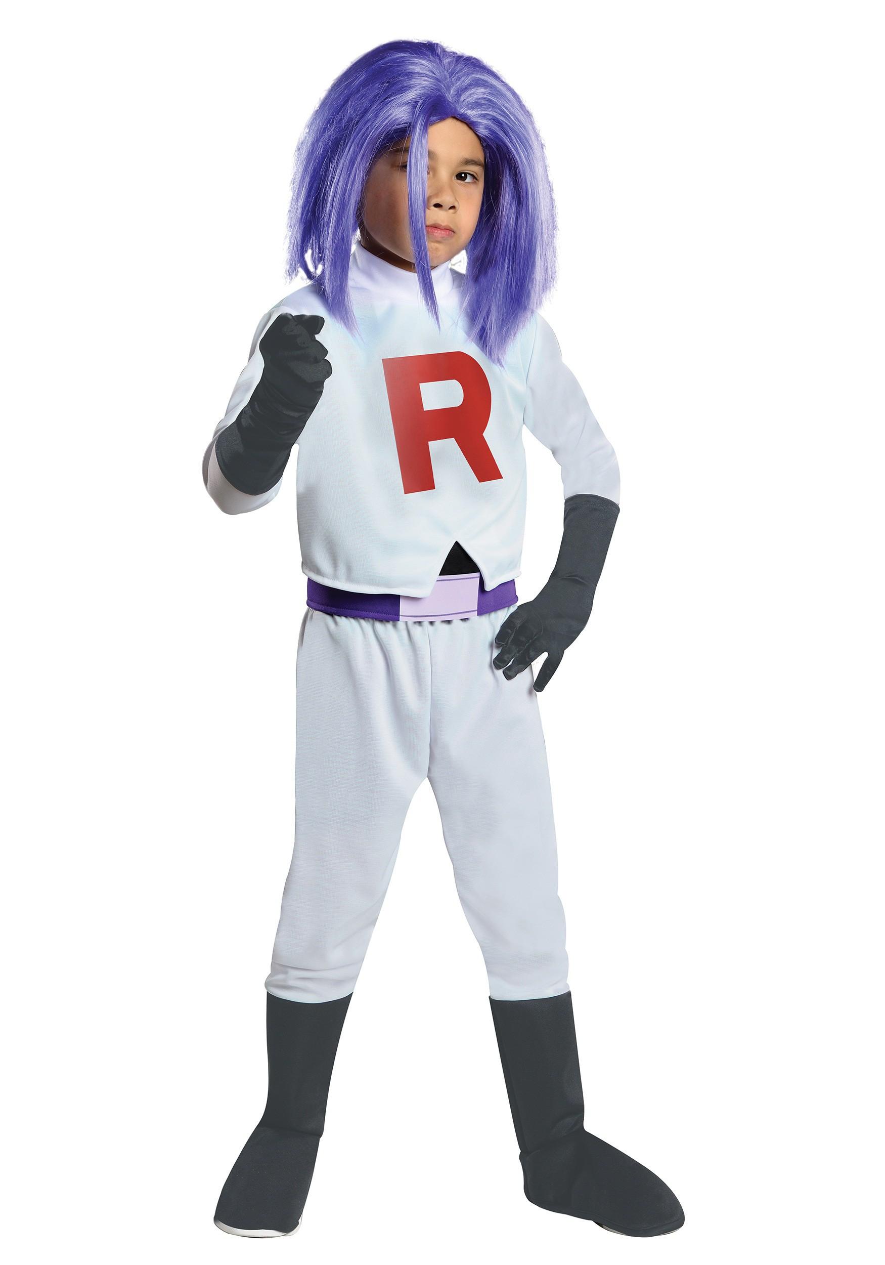 Child James Team Rocket Costume