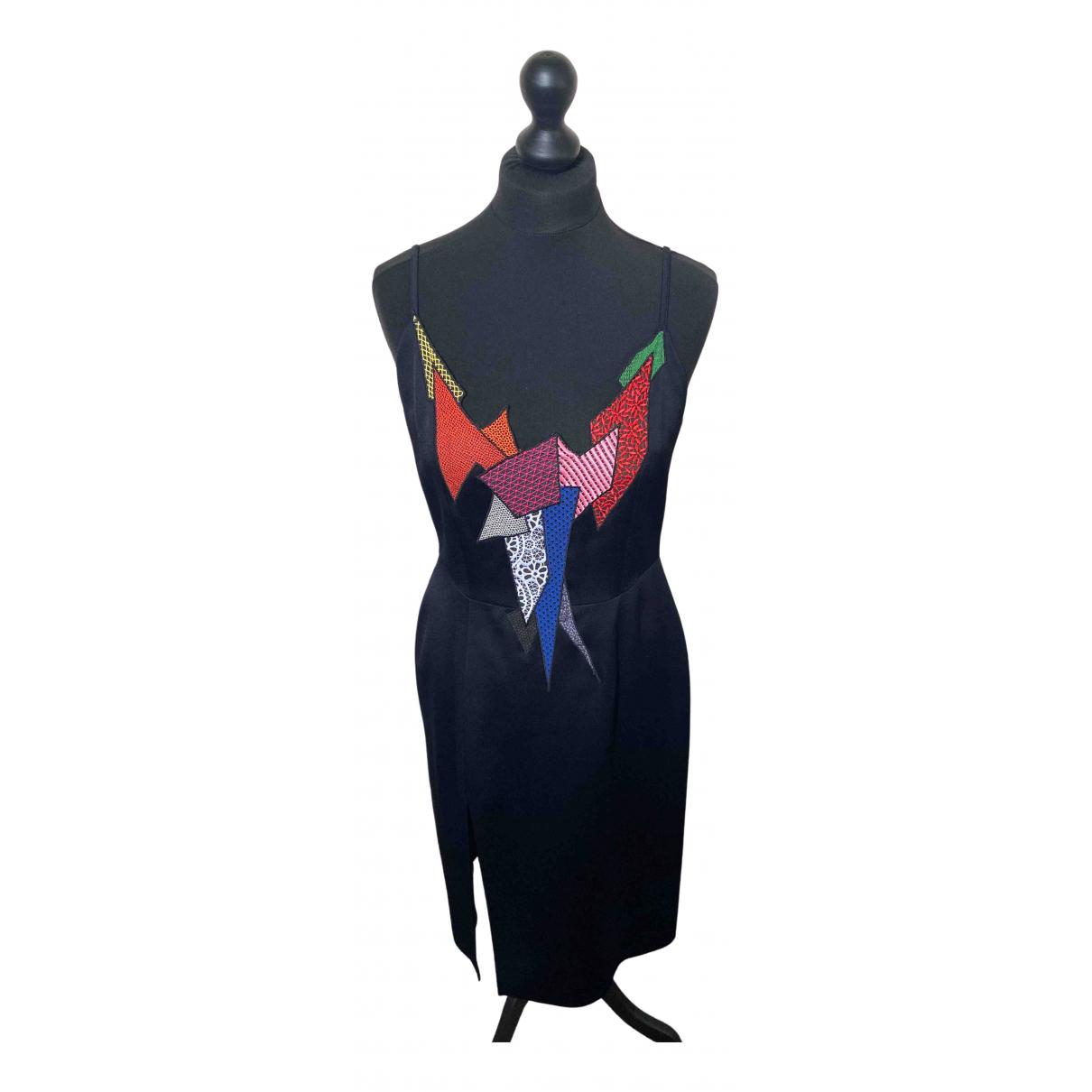 Christopher Kane \N Kleid in  Schwarz Viskose