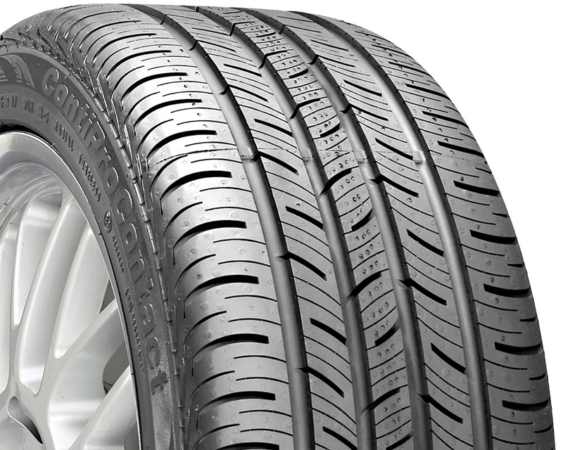 Continental DT-26989 Pro Contact Tires 245/45/17 99H BSW