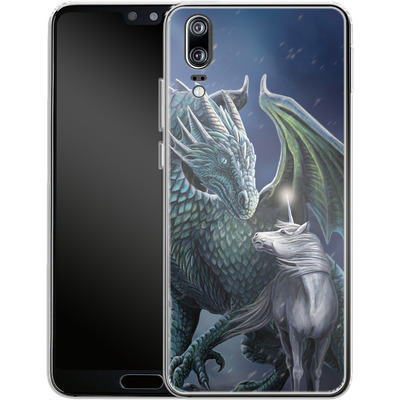 Huawei P20 Silikon Handyhuelle - Protector of Magic von Lisa Parker