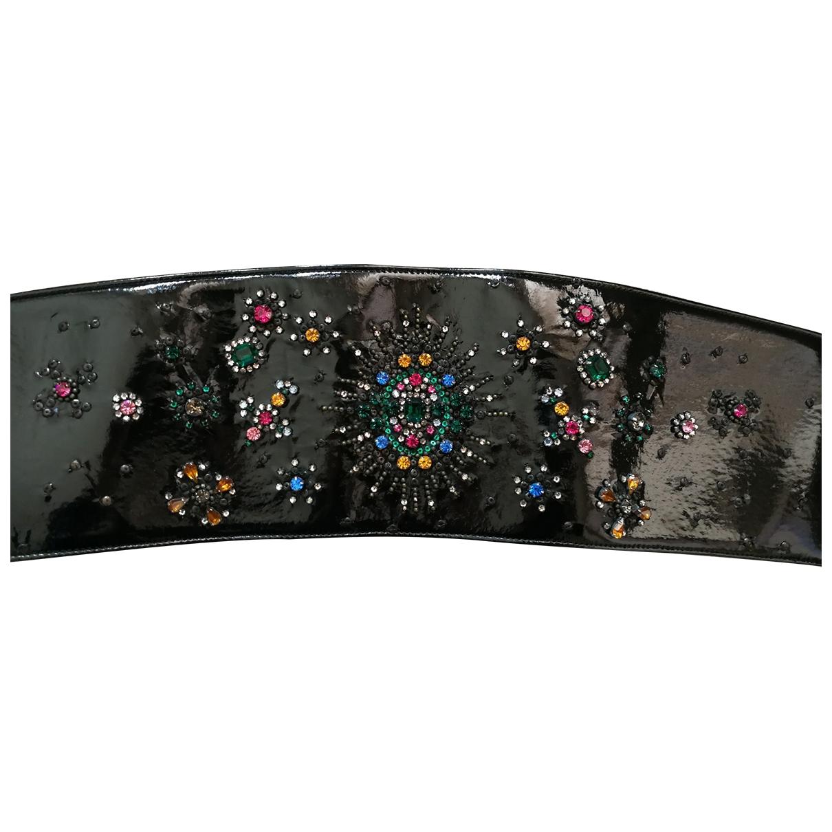 Cinturon de Charol Christopher Kane