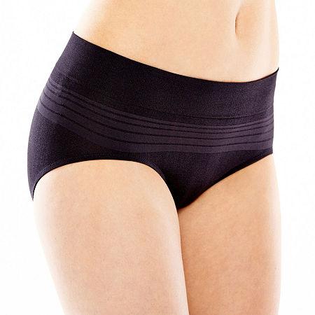 Warner's No Pinching. No Problems. Seamless Hipster Panty RU0501P, X-large , Black